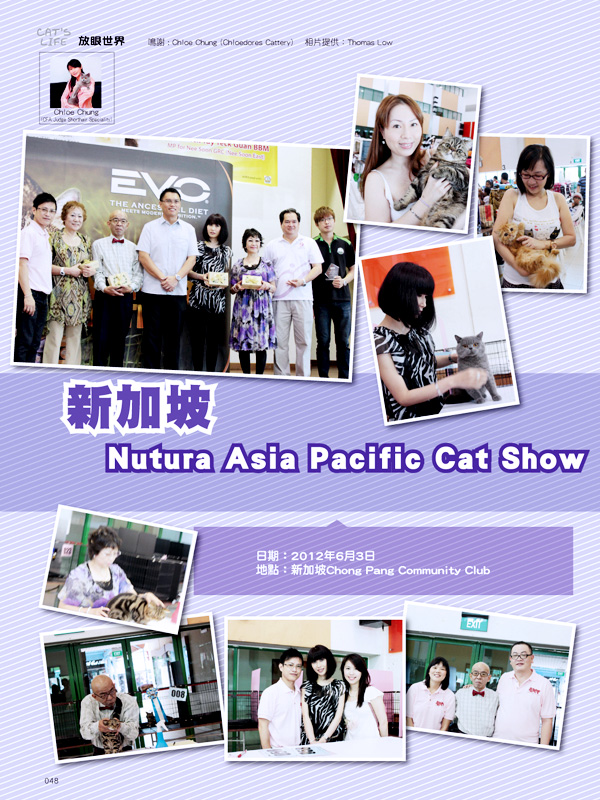 Cat's Life - Hong Kong Magazine Report