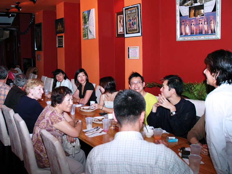 SCC Post Show Dinner